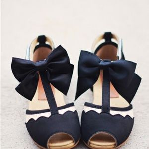 Joyfolie Avery in Black Nude Infant Shoes